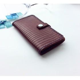 iPhoneX 本革 手帳型