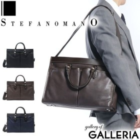 STEFANOMANO ステファノマーノ ブリーフケース 2WAY A4 GOLF SERIES 本革 107