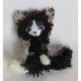 フェイスタイプドール*白黒猫(チワニャー)ちゃん♪