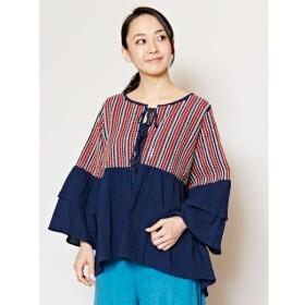 [マルイ] 【チャイハネ】フォークロア刺繍フレアスリーブトップス/チャイハネ(CAYHANE)