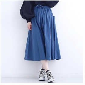 [マルイ]【セール】サイドポケットコットンスカート1412/メルロー(merlot)