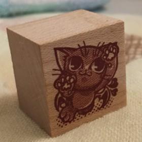 スタンプ*子悪魔猫