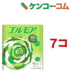 エルモア トイレットロール 花の香り ダブル 2枚重ね30m ( 4ロール7コセット )/ エルモア