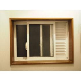 窓の高さ60cm用通風・目隠しガラリ/お手軽キット