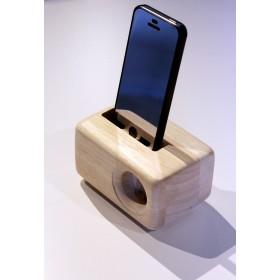 木製iPhoneスピーカーAcoustic iPhone WoodSpeakerStand(5/5S/SE/6/6S用)