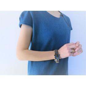ヴィンテージビジュー&パールブレスレット vintage bracelet PCL-BRnv