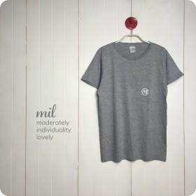 mil Logo T-Shirt / GRY