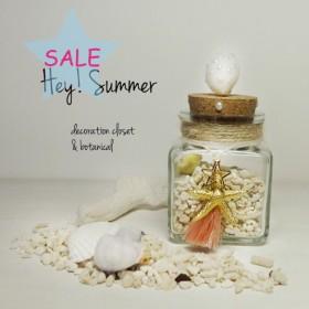★SALE★Decorative Seashell Bottle ★貝SP★