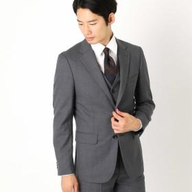[マルイ] 《セットアップ》ウールギャバ スーツジャケット/コムサイズムメンズ(COMME CA ISM)