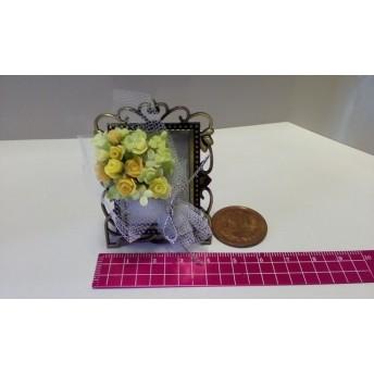 薔薇とアナベルのブーケ