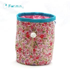 かわいいチョークバッグ 花柄 ピンク