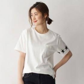 [マルイ] 【WEB限定】スターライン Tシャツ14505/ベース ステーション(レディス)(BASE STATION Ladies)
