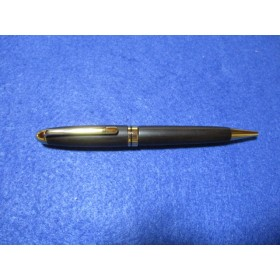 琉球黒檀 真黒材 回転式ヨーロピアンボールペン