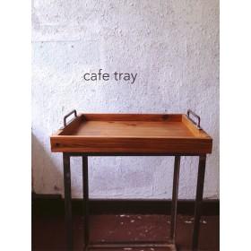 wood cafe tray(L)