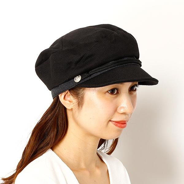 (レディース帽子) 【S/M/Lサイズ展開・UV対策・手洗いOK・サイズ調整機能】 グラヴェール ななめはぎクロッシェ /
