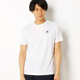 [マルイ] メッシュ刺繍半袖Tシャツ/フィラ(FILA)