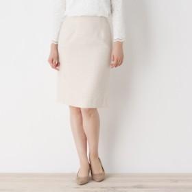 [マルイ]【セール】Lスカート(【洗える・34(SS)、42(LL)WEB限定サイズ】ツイードナロースカート)/オペークドットクリップ(OPAQUE. CLIP)