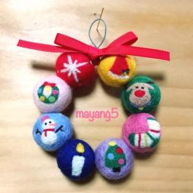 Medium☆Wreath Ornament