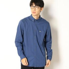 [マルイ]【セール】ギンガムチェックボタンダウンシャツ/ラコステ(LACOSTE)