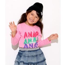 [マルイ]【セール】手書きロゴロンT/アナップキッズ&ガール(ANAP KIDS&GIRL)