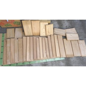 決算セール! 格安にて♪ 木の端材 お楽しみ 無垢材いろいろ 雑貨作りにいかが A