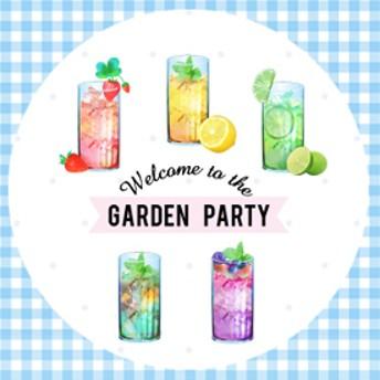 ガーデンパーティーのクラシックFruit Tea/シール