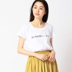 [マルイ]【セール】ヘビーウエイトロゴTシャツ/バロウズアンドサン(BURROWS AND SUN)
