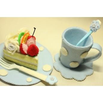 フェルトのケーキとおままごとセット2S_116