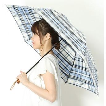 [マルイ]【セール】折り畳み傘【手開きタイプ】Pツイル先染めチェック(レディース/婦人)/ポロ ラルフローレン(傘)POLO RALPH LAUREN(umbrella)