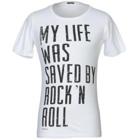 《セール開催中》ABSOLUT JOY メンズ T シャツ ホワイト S コットン 100%
