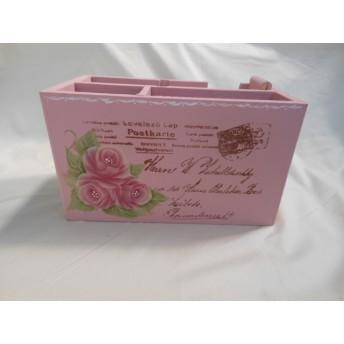 薔薇のテープカッター★トールペイント★ペン立て