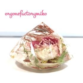 オルゴナイト 浄化バラ ダイヤモンド型