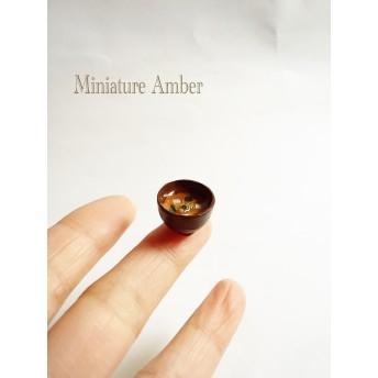 【再販×12】ミニチュアフード お母さんのお味噌汁