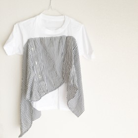 SWAY LINE SHIRT TEE -Remake-