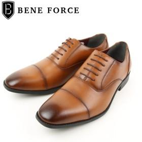 [マルイ] ビジネスシューズ (ストレートチップ ドレスシューズ)/BENE FORCE (ベネフォース)