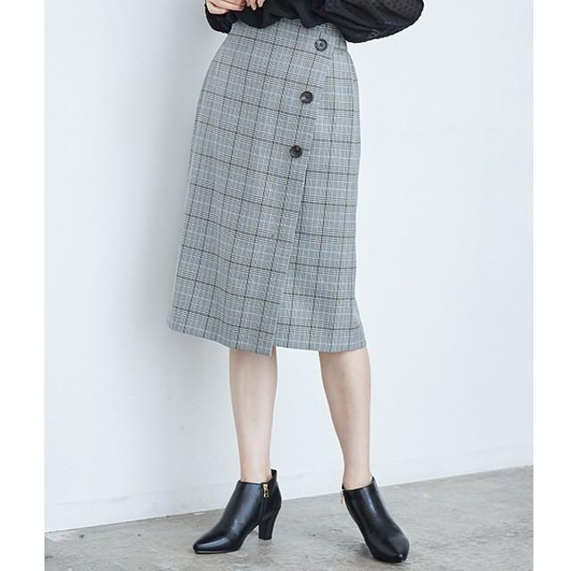 [マルイ]【セール】ウーリッシュフラノチェックタイトスカート/ロペピクニック(ROPE' PICNIC)