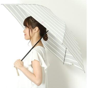 [マルイ]【セール】折り畳み傘【手開きタイプ】Pツイル先染めボーダー(レディース/婦人)/ポロ ラルフローレン(傘)POLO RALPH LAUREN(umbrella)