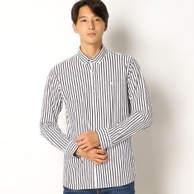 [マルイ]【セール】ラコステ 鹿の子ストライプシャツ(長袖)/ラコステ(LACOSTE)