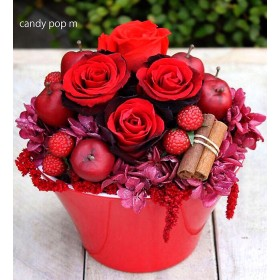 Candy pop m red