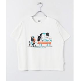 [マルイ] レディスカットソー(TINY GARDEN FESTIVAL T-SHIRTS(Women))/アーバンリサーチ ドアーズ(レディース)(URBAN RESEARCH DOORS)