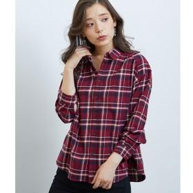 [マルイ]【セール】チェックギャザービッグシャツ/ロペピクニック(ROPE' PICNIC)
