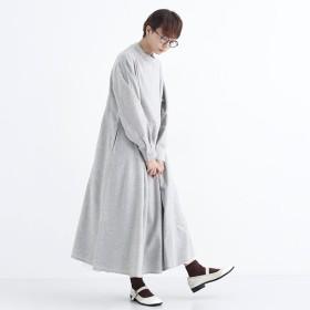 [マルイ]【セール】スタンドカラーコットンネルワンピース/メルロー(merlot)