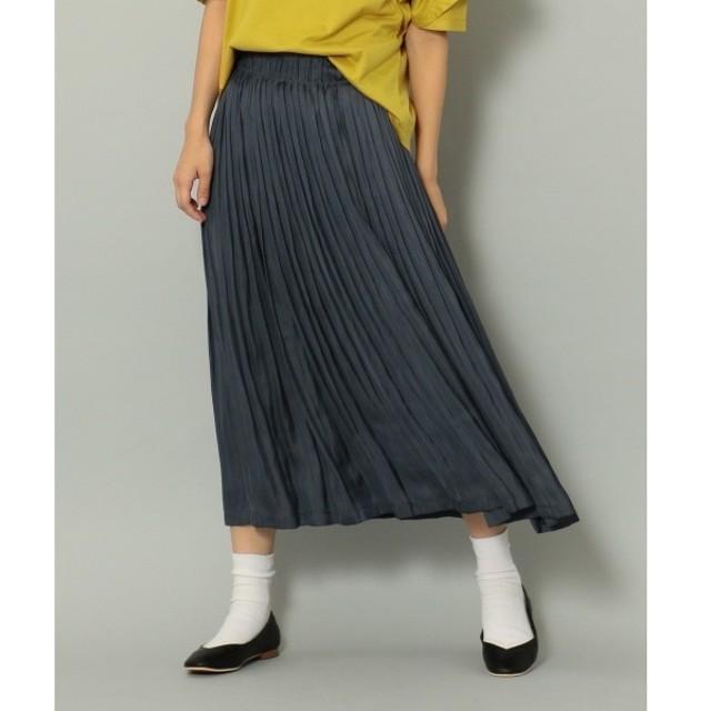 [マルイ] 【大人気のため再入荷&新色追加】モイストサテンプリーツ スカート/シェアパーク レディス(SHARE PARK LADIES)