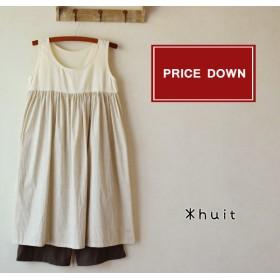 【price down】ノースリーブワンピ+ペチパンツset
