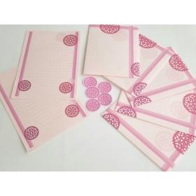 ピンク系12~レターセット~