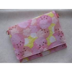 お母様のリクエストによる療育・障害者手帳ケース付きポーチ まんまるアザラシ 通学に便利なバッグ