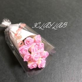 ☆送料無料☆愛を込めて花束を(ピンク、イエローグラデーション)