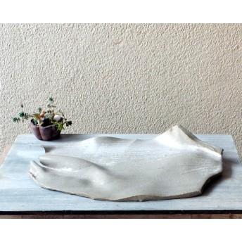白い平皿-B