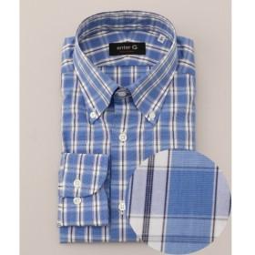 [マルイ] 【日本製】チェックBDシャツ/オンワード ジェイ ブリッジ(ONWARD J BRIDGE)