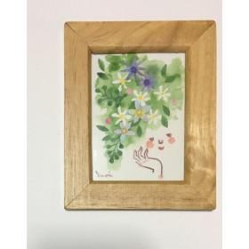 君に咲く花〈C〉手描き×貼り絵